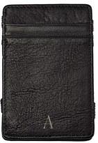 Cathy's Concepts 'Magic' Monogram Leather Wallet - Black