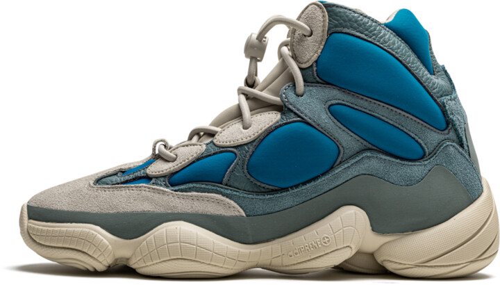 Adidas Yeezy 500 High 'Frosted Blue' Shoes - Size 4