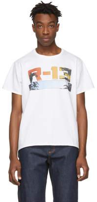 R 13 White Malibu Boy T-Shirt
