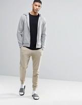 Asos Loungewear Skinny Joggers In Beige