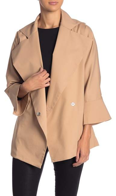 Gracia Short Trench Coat