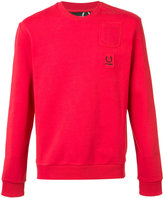 Fred Perry pocket patch sweatshirt - men - Cotton - 40
