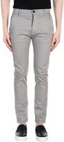 Grey Daniele Alessandrini Casual pants - Item 36855618