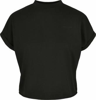 Urban Classics Women's Ladies Short Oversized Cut On Sleeve Tee T-Shirt