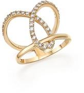 Bloomingdale's Diamond Open Loop Ring in 14K Yellow Gold, .55 ct. t.w.