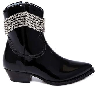 Chiara Ferragni Vinyl Texan Boots