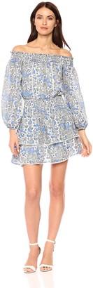 Parker Women's Kara Off The Shoulder Floral Print Dress