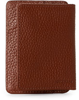 Cole Haan Tan Front-Flap Money Clip Wallet