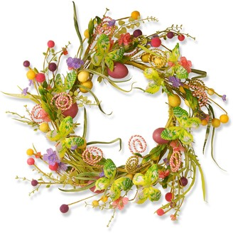 """National Tree Company 24"""" Garden Accents Easter Wreath"""
