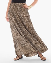 Chico's Leopard Maxi Skirt