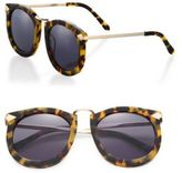Karen Walker Super Lunar 50MM Round Sunglasses