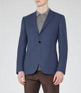 Reiss Burling B Peak Lapel Wool Blazer