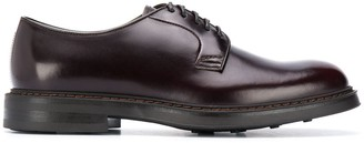 Doucal's Round Toe Lace-Up Shoes