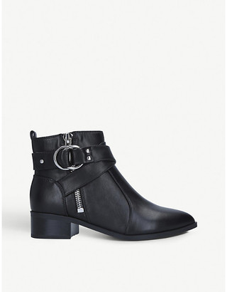 Nine West Dahila leather ankle boots