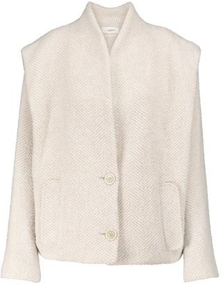 Etoile Isabel Marant Drogo herringbone wool-blend jacket