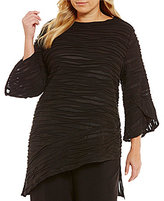 IC Collection Plus Bell Sleeve Tunic