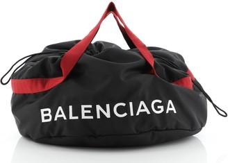 Balenciaga Wheel Duffle Bag Nylon Small