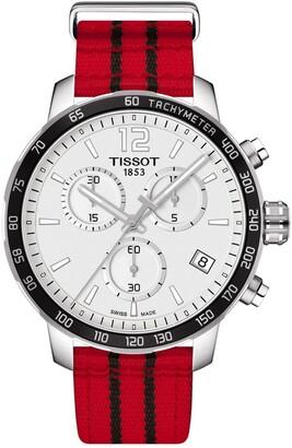 Tissot Men's Quickster Chronograph NBA Chicago Bulls Watch, 42mm
