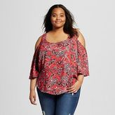 Mossimo Women's Plus Size Cold Should Top Juniors')