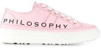 Philosophy di Lorenzo Serafini Logo Print Low-Top Sneakers