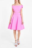 Natasha Zinko Twisted Cut-Out Dress