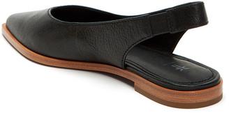 Frye Kenzie Leather Slingback Flats