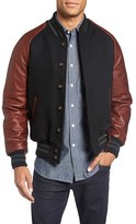 GoldenBear Golden Bear Virgin Wool Blend Varsity Jacket