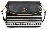 Kate Spade Jackson Street Embroidered Harlyn Crossbody Bag - Black