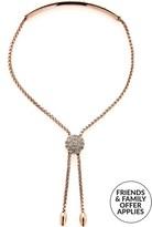 Love Rocks Bar Lariat Bracelet