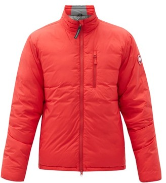 Canada Goose Lodge Packable Quilted Down Jacket - Red