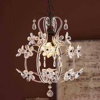 Pottery Barn Teen Luce Chandelier, Clear