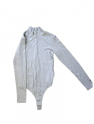 Alexander Wang Grey Cotton Top for Women