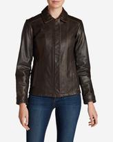 Eddie Bauer Women's Leather Stine Jacket