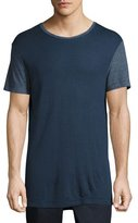 ATM Anthony Thomas Melillo Modal Crewneck Ringer T-Shirt, Navy