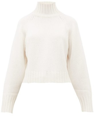 Proenza Schouler Roll-neck Cashmere Sweater - Womens - Ivory