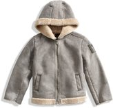 GUESS Faux-Fur Hooded Coat (2-6x)