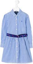 Ralph Lauren striped shirt dress - kids - Cotton - 2 yrs
