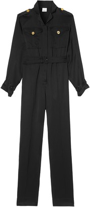 Burberry Belted Jumpsuit
