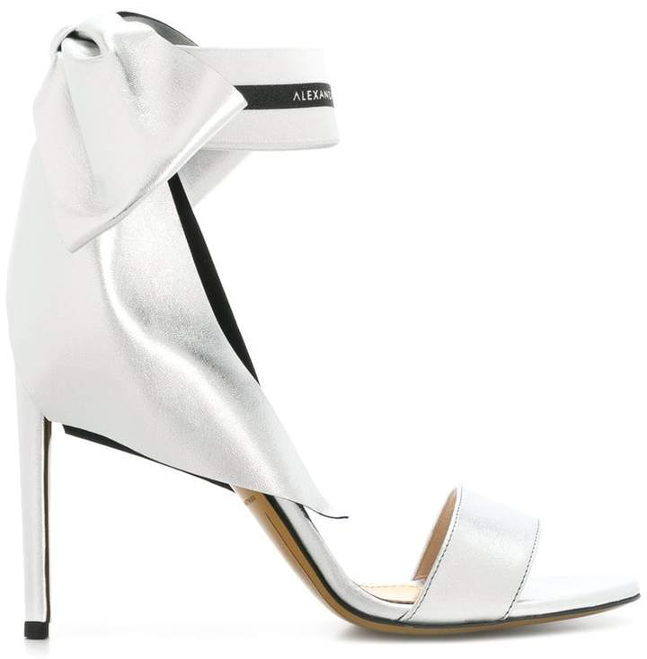 Alexandre Vauthier bow detail sandals