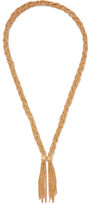 Aurelie Bidermann Miki Gold-plated Necklace - one size