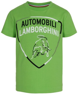 Automobili Lamborghini Kids Shield T-Shirt (4-14 Years)