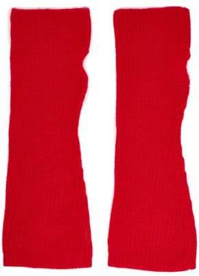 Madeleine Thompson Phoebe Wool And Cashmere-blend Fingerless Gloves