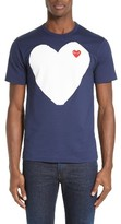 Comme des Garcons Men's Heart Graphic T-Shirt