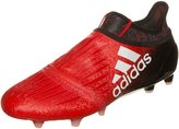 adidas Men's X 16+ Purechaos FG Soccer Cleats (Red, Black) (7.5)