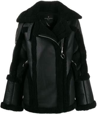 Nicole Benisti Montaigne shearling-trimmed jacket