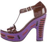 Marni T-Strap Platform Sandals