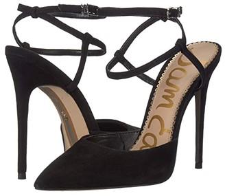 Sam Edelman Deana (Black Suede Leather) Women's Shoes