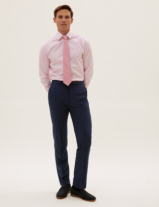 Marks and Spencer The Ultimate Navy Slim Fit Trousers