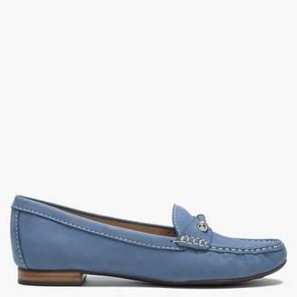 Daniel Looper Blue Suede Loafers