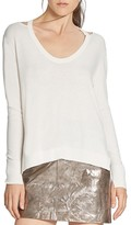 Halston Cutout Sweater